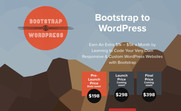Bootstrap to WordPress