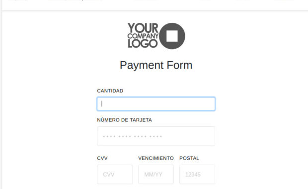 Square Payment Form