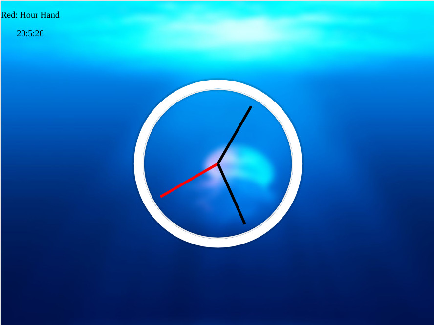 CSS JS Clock Demo